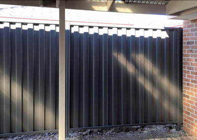 Colorbond Steel Fence Panels